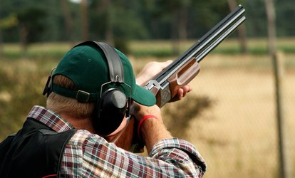 image for Clay Pigeon Shooting or Air Rifle Shooting for One or Two at Yorkshire Field Sports (Up to 47% Off)
