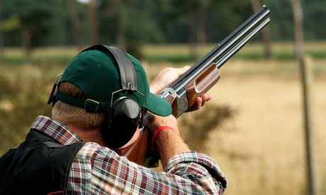 Clay Target Shooting Experience for One with 20, 30 or 40 clays at Martin Gorse Wood Clay Pigeon Club