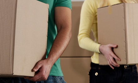 Two or Four Hours of Moving Services with Two Movers from My Quality Moves (Up to 63% Off)