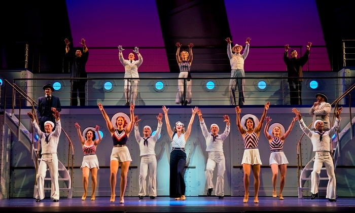 """""""Anything Goes"""" - Greater Lowell Music Theatre : """"Anything Goes"""" at Greater Lowell Music Theatre on June 26–28 (Up to 39% Off)"""