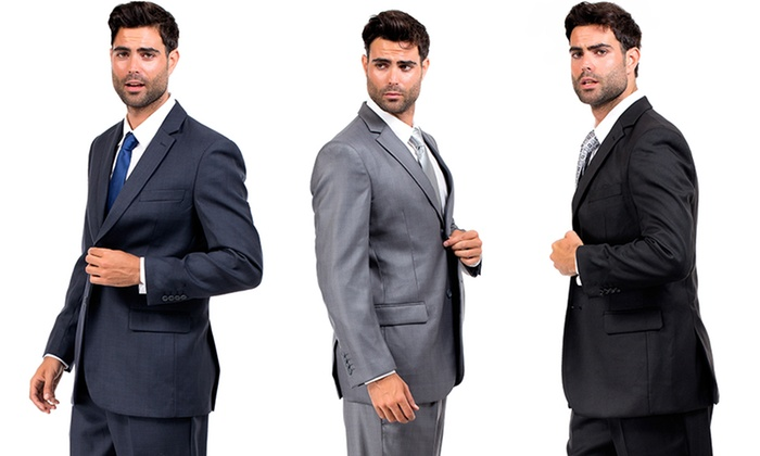 DeZillino Men's 2-Piece Suits: DeZillino Men's 2-Piece Suits