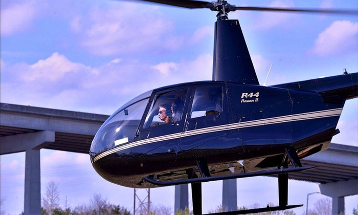 Southeast Helicopter - Southeast Helicopter: Historic City Helicopter Tour for One, Two, or Three at Southeast Helicopter (39% Off)