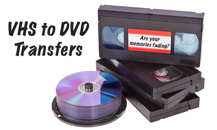 Mediazeus - Tech Park: 1 Hour of VHS to DVD Transfer from MediaZeus (43% Off)
