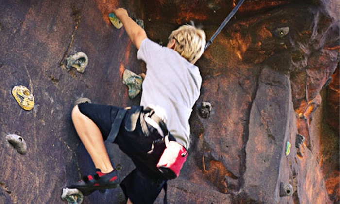 Space City Rock Climbing - League City: Rock-Climbing Package with Equipment Rental for One, Two, or Four at Space City Rock Climbing in League City (52% Off)