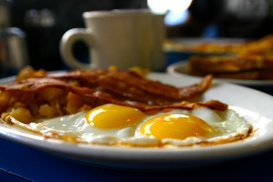 Casual American Breakfast Or Lunch For Two Or Four At Taylor Sam