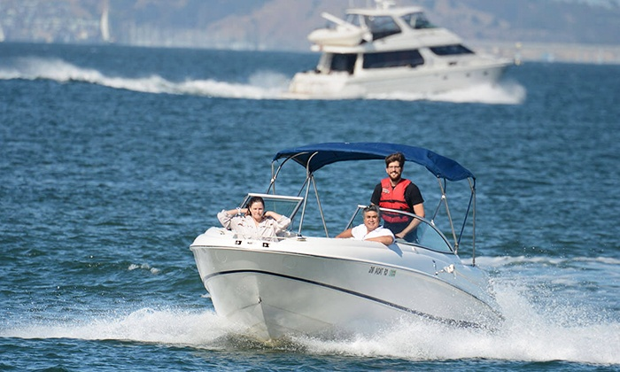 SF Powerboat Rentals: $139 for Private Boat Rental Monday–Friday for Up to 11 People ($199.99 Value)