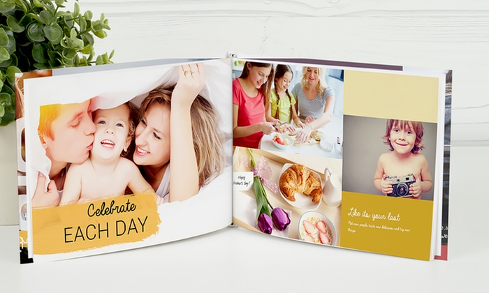 Photobook America: One 40-Page Imagewrap Hardcover Photobook from Photobook America (Up to 79% Off). Multiple Sizes from $9.99–$26.99.
