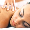Up to 55% Off a Massage, Facial, and Mani-Pedi