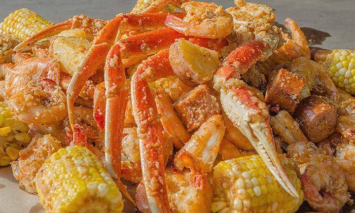 "Lowcountry - LowCountry: ""Super Boil"" Seafood Buffet for One, Two, or Four at Lowcountry on February 7 (Up to 21% Off)"