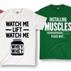 Men's Fitness Humor Tees
