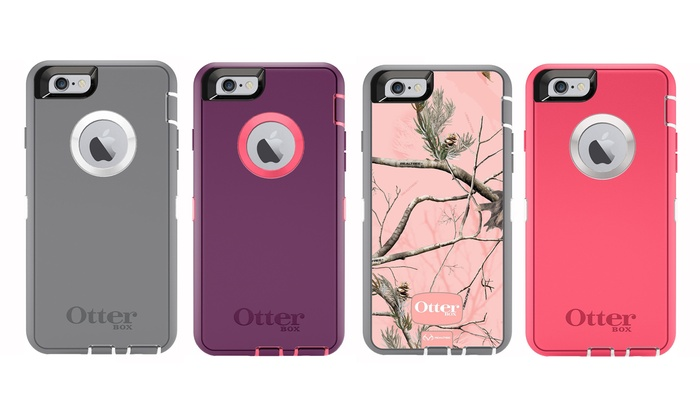 OtterBox Defender Series Case with Holster and Built-In Screen Protector for Apple iPhone 6/6s