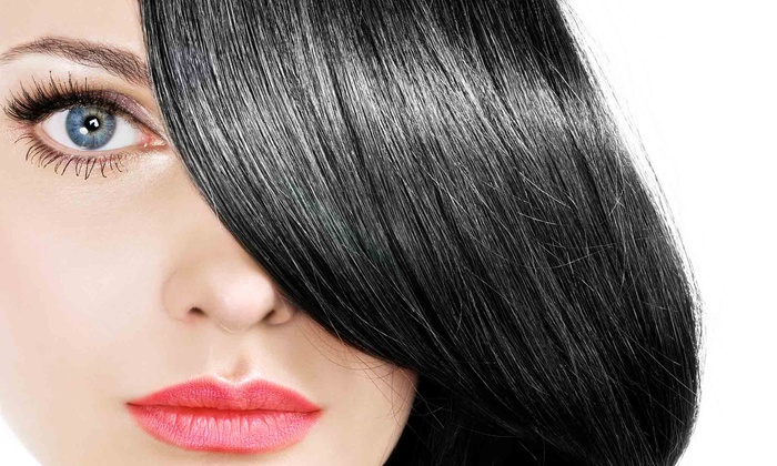 Attitudes Hair Design - Elk Grove: Partial Highlights or Haircut with Shampoo at Attitude Hair Design Salon (Up to 40% Off)