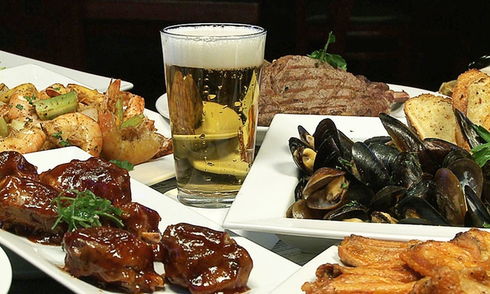 Playoff Sports Bar and Grill - Reisterstown: Pub Food and Drinks or Brunch at Playoff Sports Bar and Grill (Up to 48% Off)
