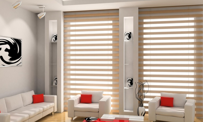 Web Decors - Multiple Locations: $464 for $800 Worth of Window Treatments — Web Decors by Donna Webster