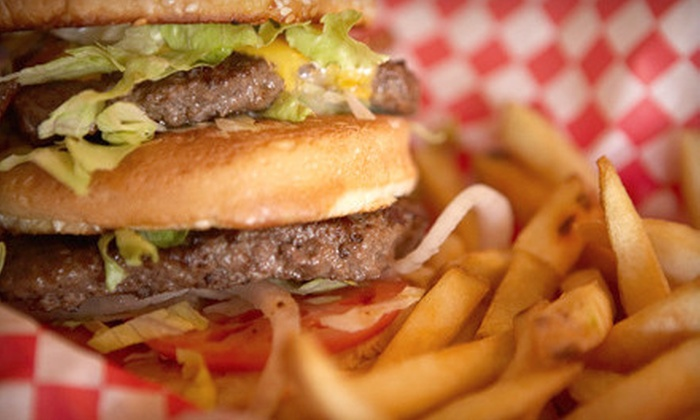 Bad Boy Burgers - Multiple Locations: $6 for $12 Worth of American Cuisine at Bad Boy Burgers (Half Off)
