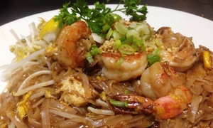 Asiana Garden: Thai Cuisine at Asiana Garden (Up to 40% Off). Three Options Available.