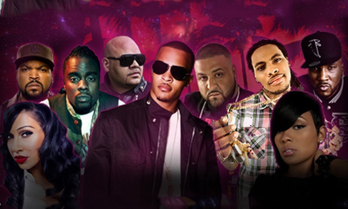 Radio One Fest, featuring T.I., Young Jeezy, Wale, and DJ Khaled - Downtown Miami: Radio One Fest Featuring T.I. and Young Jeezy at Klipsch Amphitheater at Bayfront Park on July 7 (Up to 41% Off)
