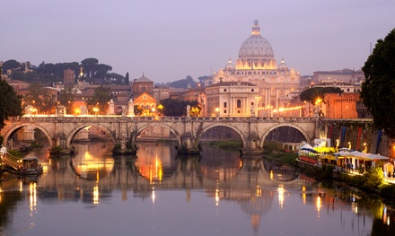 ✈ Rome, Venice and Florence: 6 or 9Night Getaway with Accommodation, Flights and Train Transfers*