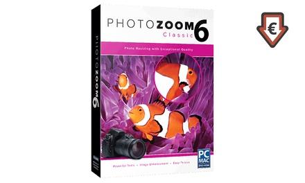 Logiciel Photozoom Classic 6 à télécharger, disponible immédiatement à 14,99€ (59% de réduction)