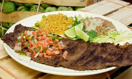 Mexican Food for Dine-In or Takeout at Fuego Mexican Grill (Up to 40% Off). Three Options Available.