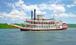 The Spirit of Peoria: Riverboat Sightseeing Cruise or Overnight Excursion aboard The Spirit of Peoria (Up to 38% Off)