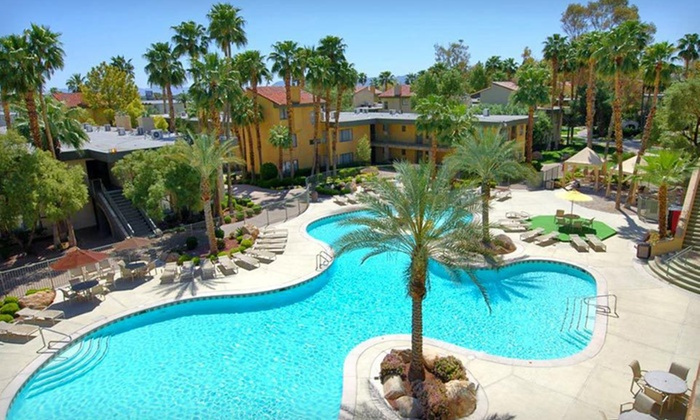 Alexis Park All Suite Resort - Las Vegas: Two-Night Stay with Complimentary Airport Shuttle at Alexis Park All Suite Resort in Las Vegas