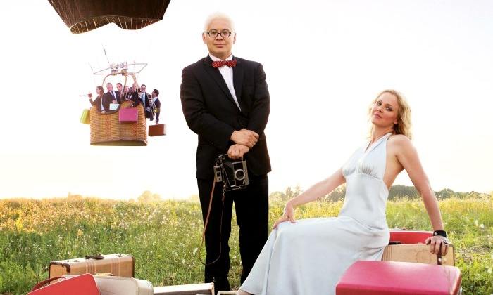 Pink Martini - Multiple Locations: Pink Martini at The Vets on May 5 at 7:30 p.m. (Up to 41% Off)