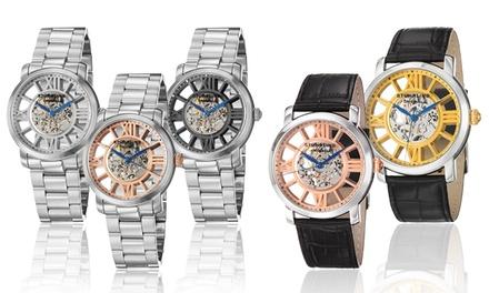 Clearance: Stuhrling Original Men's Skeletonized Mechanical Watch