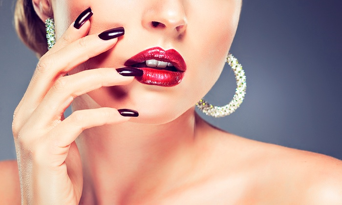 Nails by Leslie at Rendezvous - Polo Grounds: One-Color Acrylic Nails or Gel Polish for Acrylic Nails at Nails by Leslie at Rendezvous (Up to 40% Off)