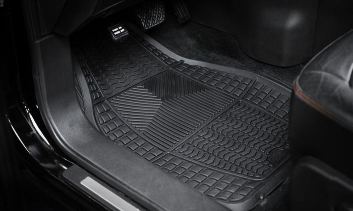 armor all car floor mats 4pc groupon goods. Black Bedroom Furniture Sets. Home Design Ideas