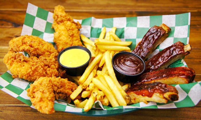 Beef 'O' Brady's - Brandon: Burgers and Pub Food for Two at Lunch or Dinner at Beef 'O' Brady's (Half Off)