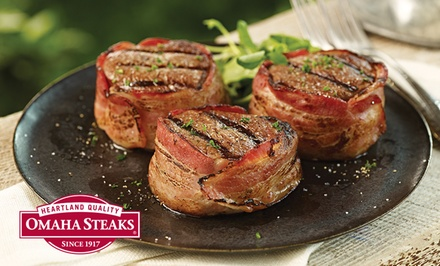 Labor Day Packages from Omaha Steaks (Up to 68% Off). Three Options Available.