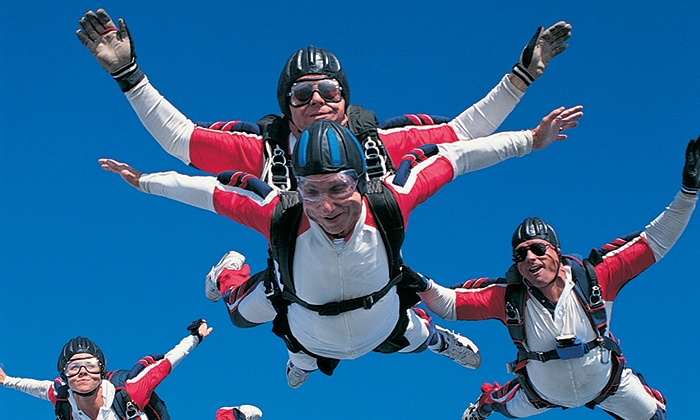 Dallas Skydiving - Decatur: $159 for a Tandem Skydiving Jump at  Dallas Skydiving ($319.99 Value)