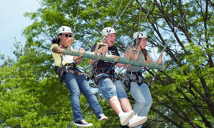 Terrapin Adventures - Terrapin Adventures: Ropes Course with Ziplining for 2 or 4 Kids, or Party for Up to 10 Kids at Terrapin Adventures (Up to 50% Off)
