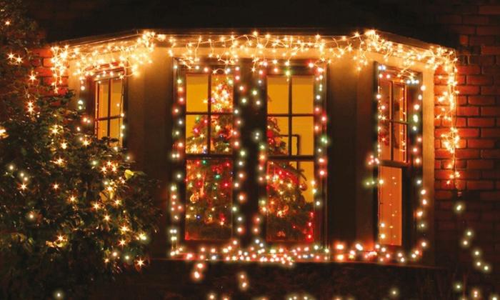 Snoer van 50/100/200 LED-lampjes | Groupon Goods