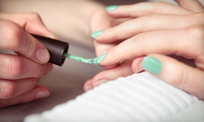 Color Palette Salon - Forest Hills: Two Shellac Manicures or One Shellac Mani-Pedi at Color Palette Salon (Half Off)