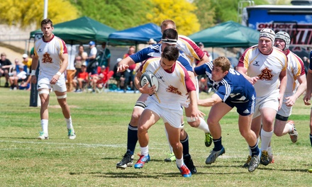$5 for Mercedes-Benz of Scottsdale Rugby Bowl: ASU vs. Ohio State at Scottsdale Stadium on April 18 (Up to $15 Value)