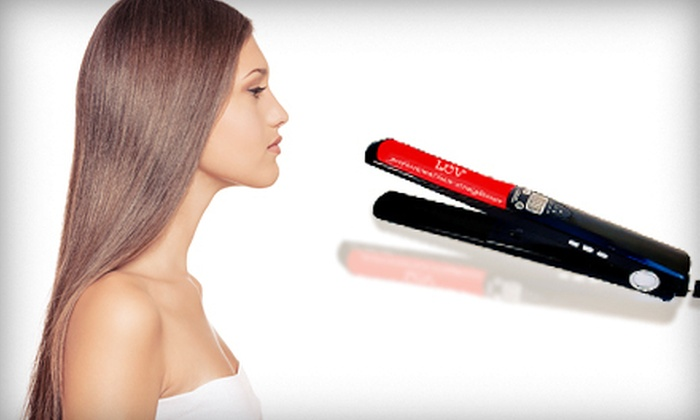 Luv Wear Online : $65 for a Digital Ceramic Flatiron with Shipping from Luv Wear Online ($255.74 Value)
