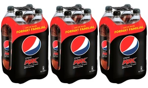 Pepsi Max 8, 12 ou 16 Bouteilles
