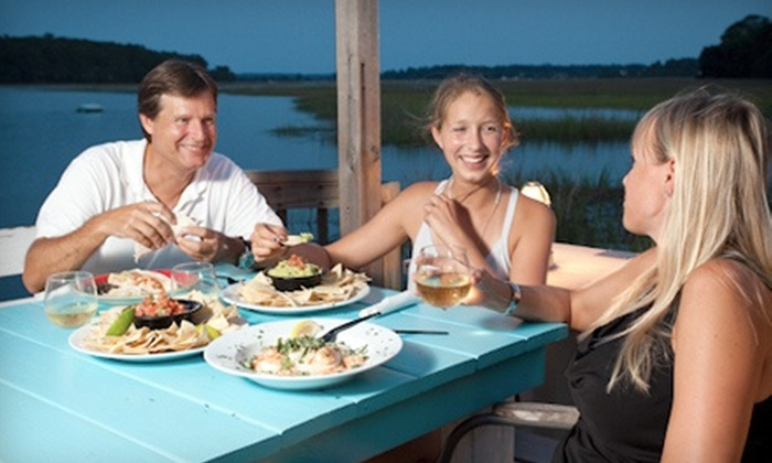 Bonna Bella Waterfront Grille - Savannah: $17 for $30 Worth of American Cuisine at Bonna Bella Waterfront Grille