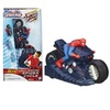 Spider-Man Remote-Control Wall-Racing Spider Cycle