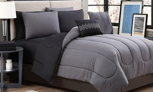 Reversible Comforter Set with Printed Sheets (9-Piece) at Reversible Comforter Set with Printed Sheets (9-Piece), plus 6.0% Cash Back from Ebates.