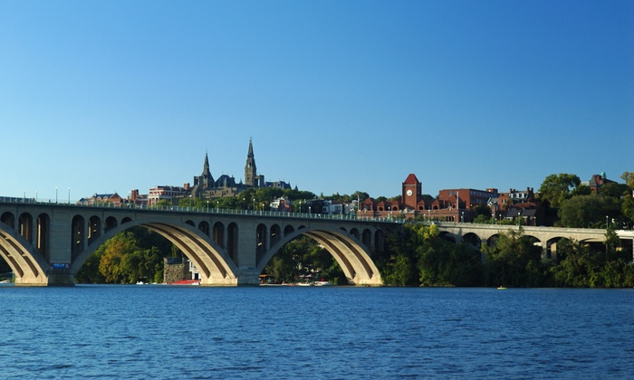 Adventures for Creative Tourists - Multiple Locations: Georgetown or Dupont Circle Tour for One, Two, or Four from Adventures for Creative Tourists (Up to 55% Off)