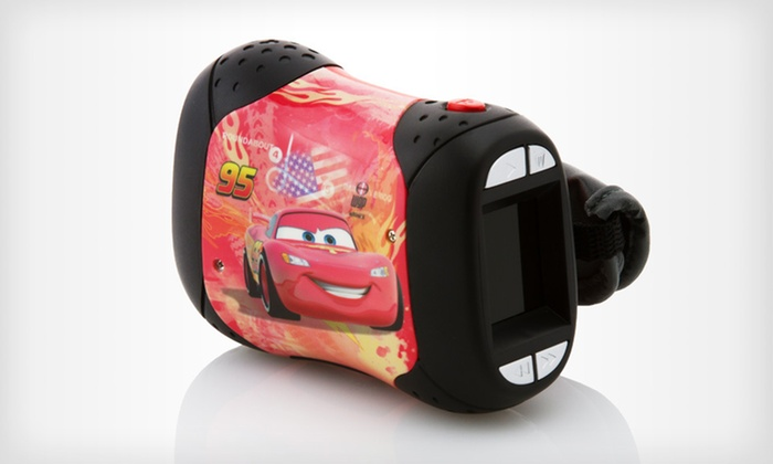 "Disney ""Cars"" Children's Camcorder: $29 for a Disney ""Cars"" Children's Camcorder ($49.99 List Price). Free Shipping and Free Returns."