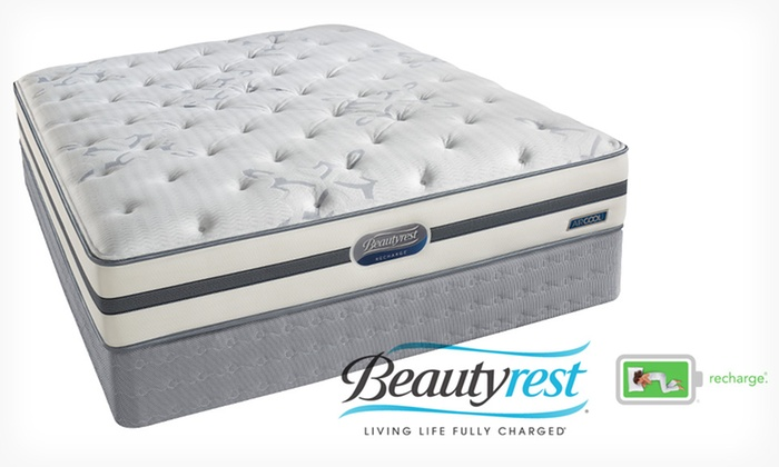 simmons beautyrest recharge logo. closeout: simmons beautyrest recharge plush mattress set: new hope logo