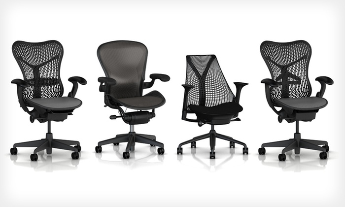 herman miller office chairs | groupon goods