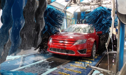 Ultimate Exterior Car Wash or Blue Rain Special Exterior Car Wash at Blue Rain Express Car Wash  (Up to 47% Off)
