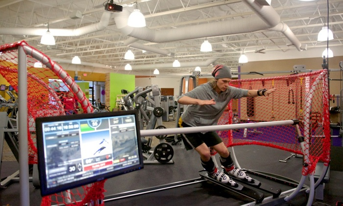 Anytime Fitness - Simi Valley: Up to 58% Off Skiing & Snowboarding Simulation at Anytime Fitness