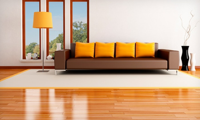 One Touch Commercial & Carpet Cleaning Services - Sandston: $199 for Hardwood-Floor Cleaning and Preservation from One Touch Commercial & Carpet Cleaning Services ($450 Value)