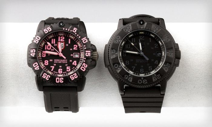 Luminox Watches for Men and Women: Luminox Watches for Men and Women (Up to 54% Off). 3 Styles Available.